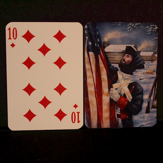 Spirit of America Playing Cards-standard set Image