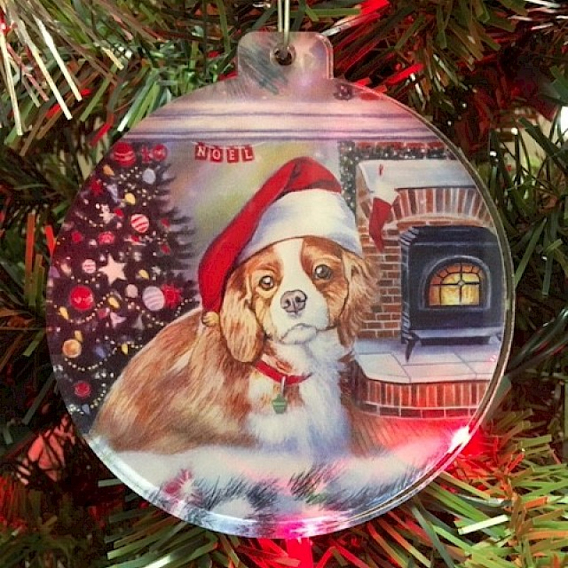 Acrylic Ornament Little Christmas Dreamer Image